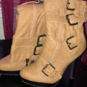Shoes - Calf high Boots
